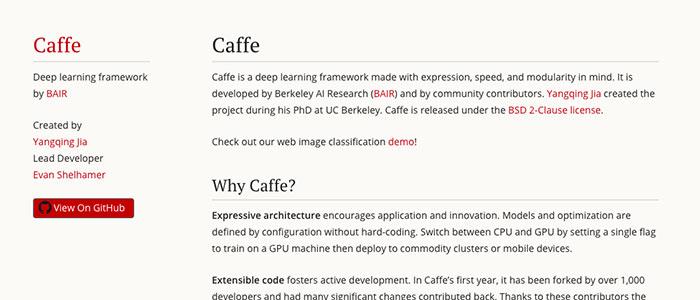 Caffeのイメージ