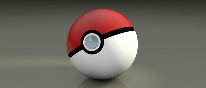 紅白のボールで愉快な動物たちをゲットする某アニメのイメージ