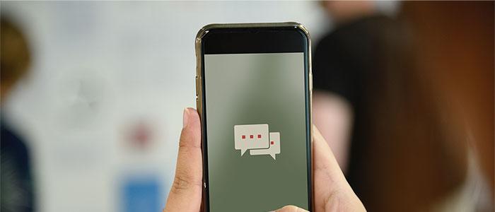 AIと会話のイメージ