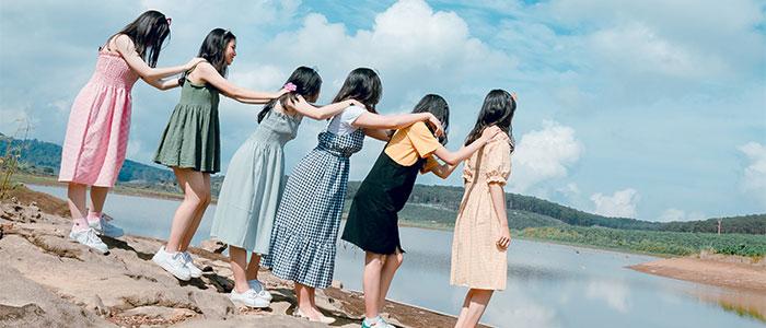女子会(理想)のイメージ