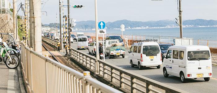 日本の道路のイメージ