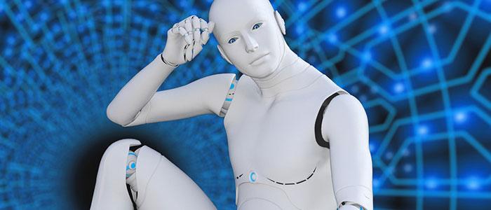 人型ロボットのイメージ