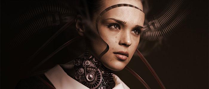 ヒューマノロイドロボットソフィアのイメージ