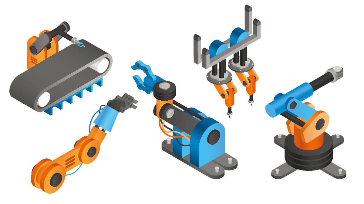 ロボットアームの種類