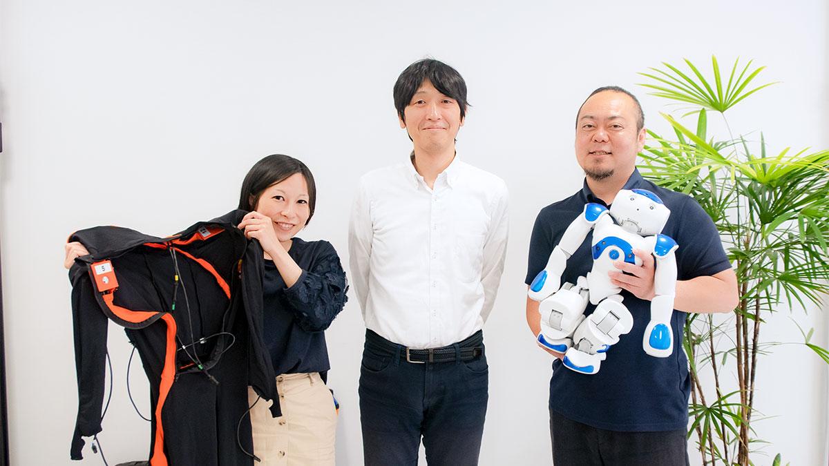 高野先生と森田さんとそねあすのイメージ