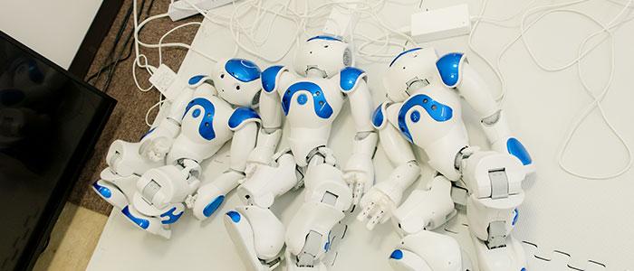 ロボット充電中のイメージ