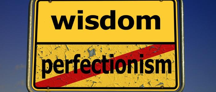 完璧主義はダメというイメージ