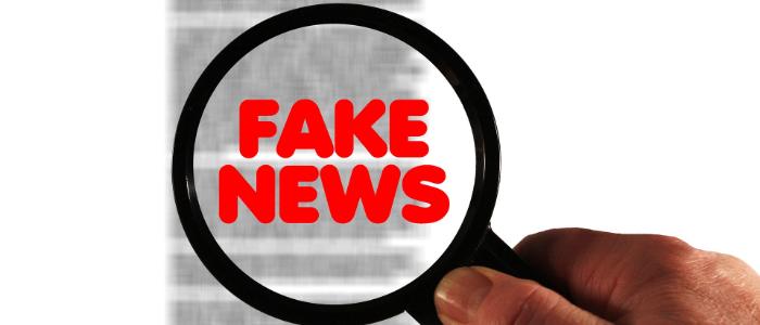 フェイクニュースを見破るイメージ