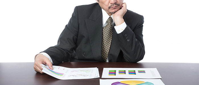 消極的な上司のイメージ
