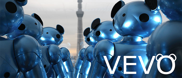 保育ロボット「VEVO」のサイトのイメージ