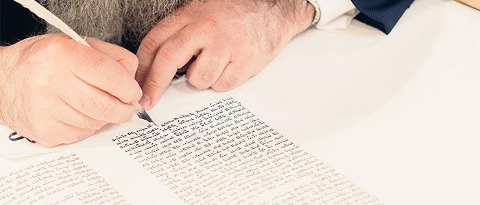文章を書いてるイメージ