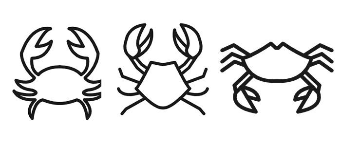 カニ3種類