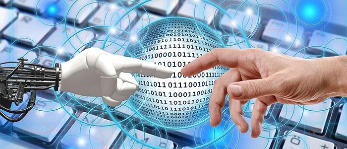 AIと人のイメージ
