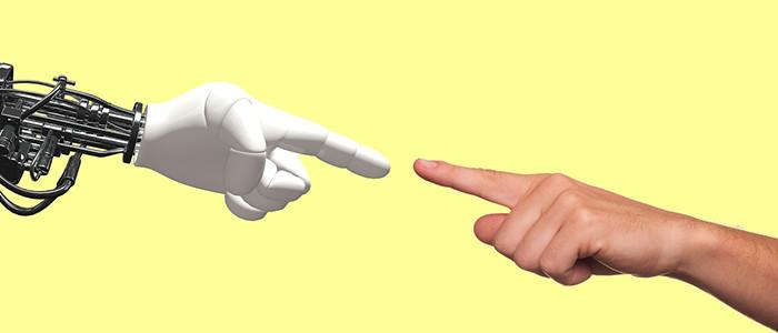 ロボットと人間のイメージ