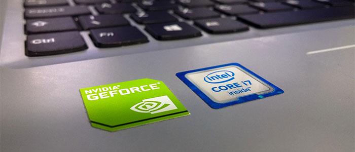NVIDIAとIntelのイメージ