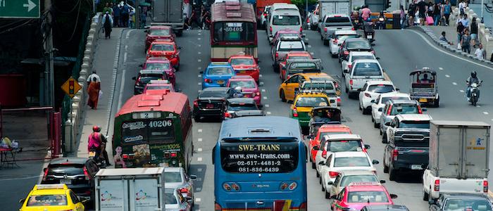交通渋滞のイメージ