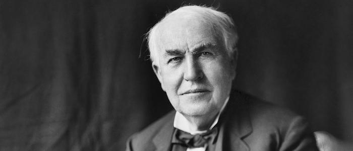 発明王エジソンのイメージ
