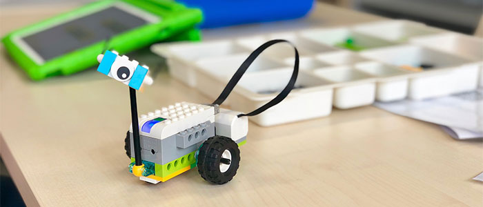 学習用ロボットのイメージ