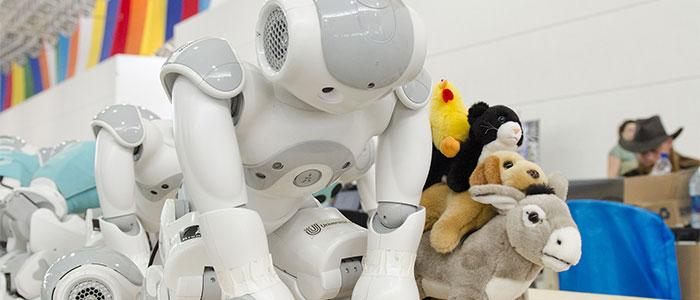 家庭用ロボットのイメージ