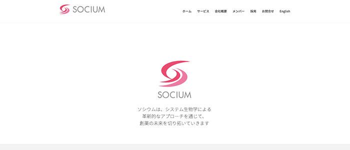 ソシウム株式会社のイメージ