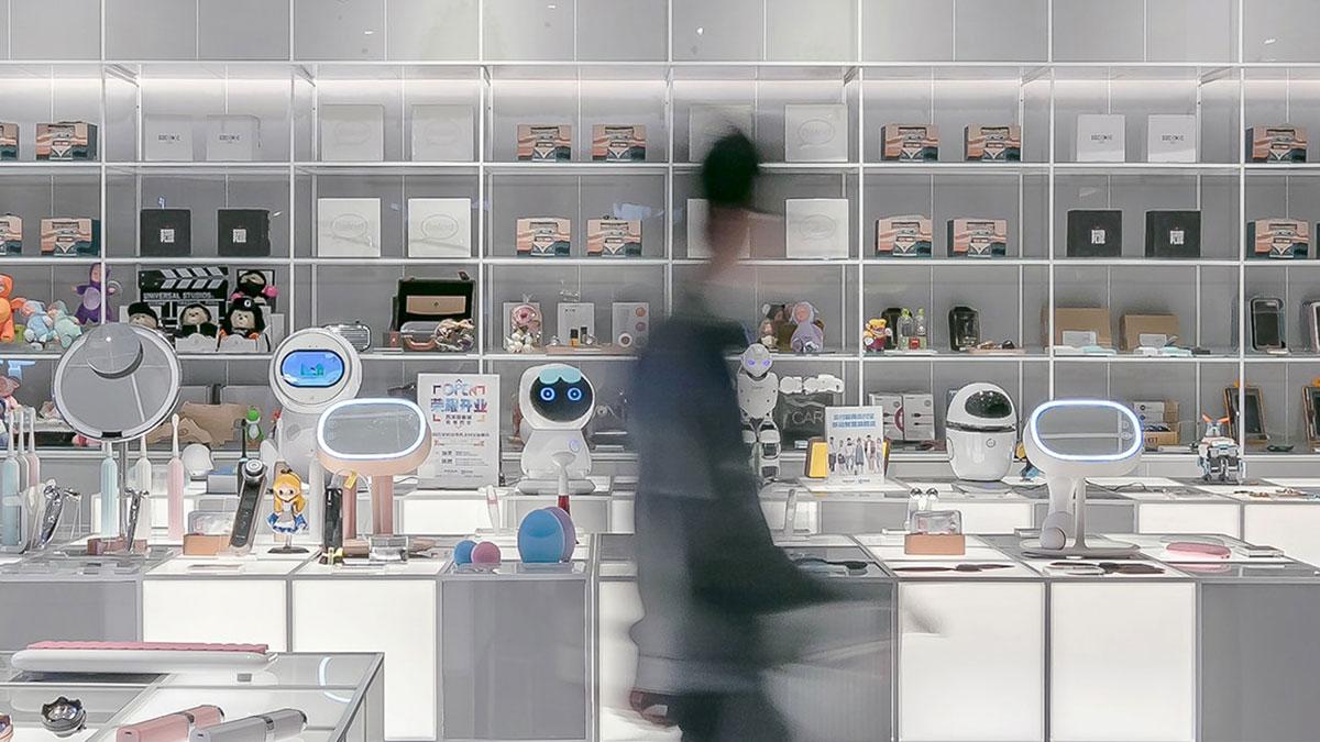 ロボット販売のイメージ