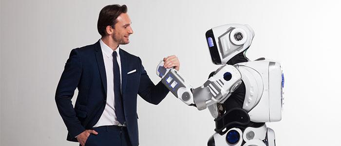 AIとタッグを組む人のイメージ