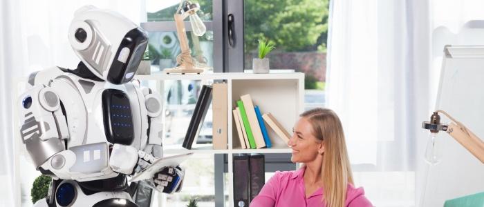 見守りロボットのイメージ