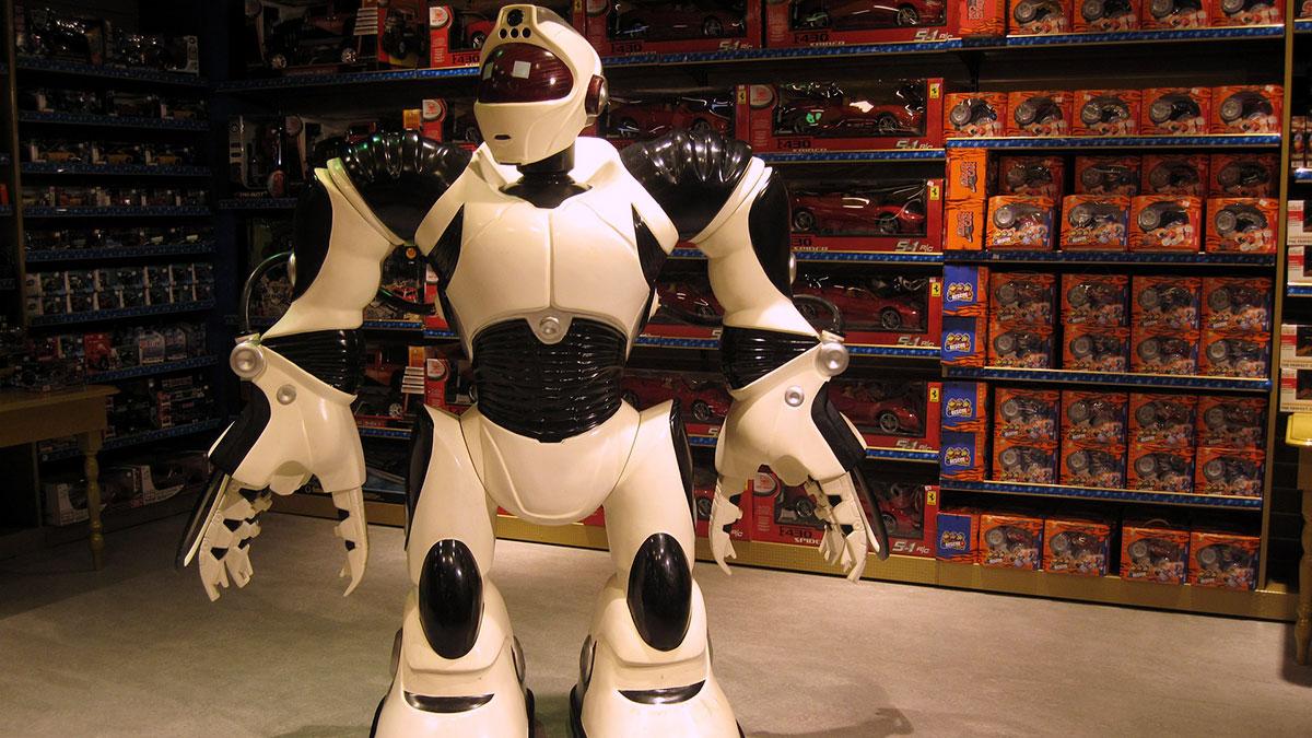 ロボットを買うイメージ