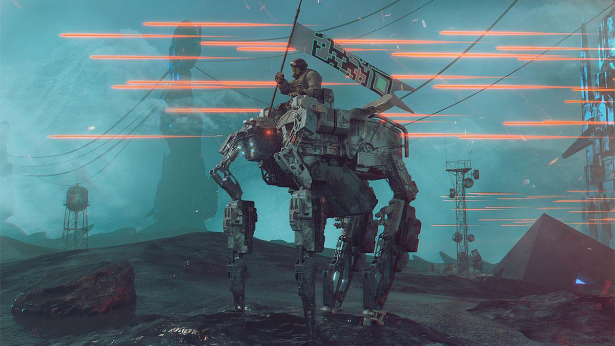 AIと戦争のイメージ
