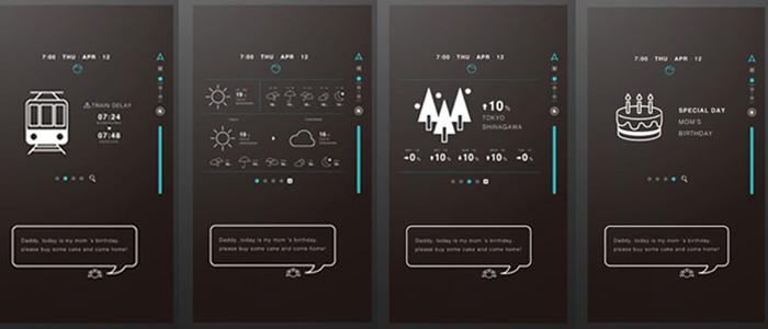 天気と交通情報のイメージ