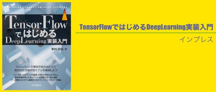 TensorFlowの専門書のイメージ