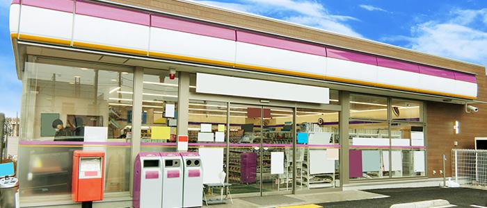 日本のコンビニのイメージ