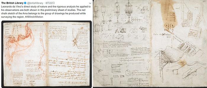 ダヴィンチ日記のイメージ