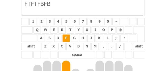 FMVのキーボード