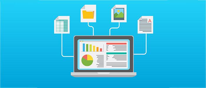 業務の効率化のイメージ