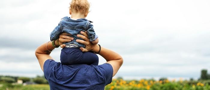 パパと子どものイメージ