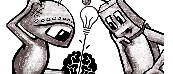 機械学習を発展させたイメージ