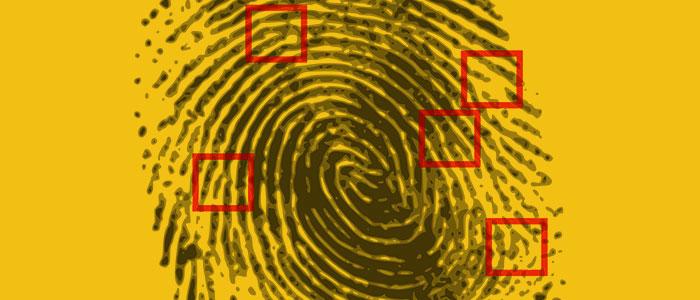 指紋のイメージ