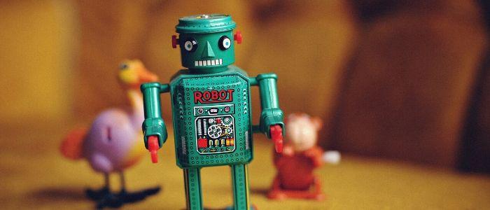 プログラミングロボットのイメージ