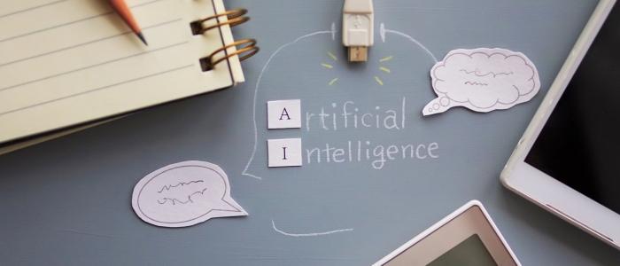 AIが自動運転を実現するイメージ