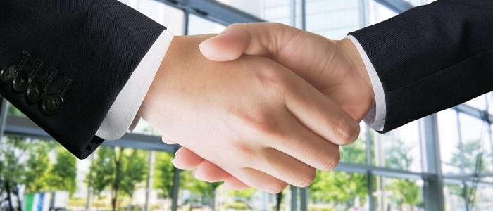 契約成功のイメージ