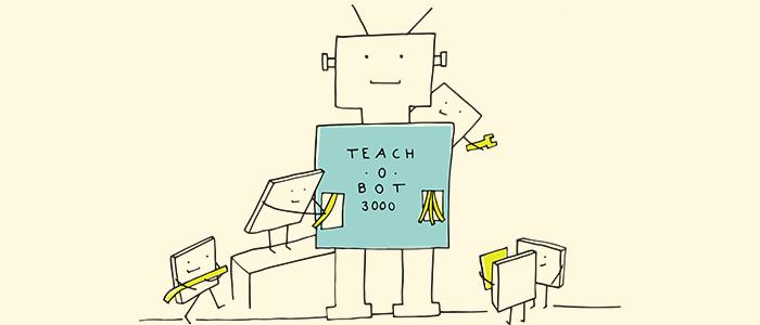 ロボット先生のイメージ
