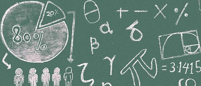 数学的な知識が必要なイメージ