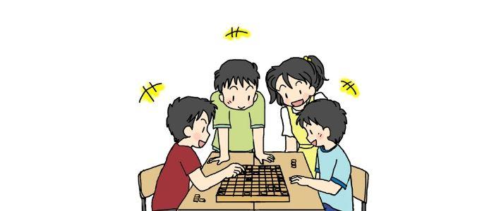 将棋が盛り上がるイメージ