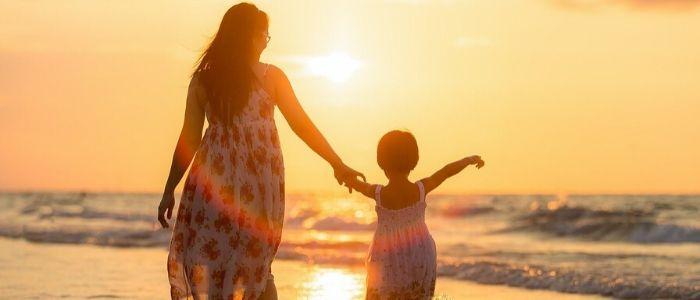 子供とママのイメージ