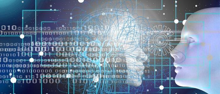 AIと人間が一緒に生きるイメージ