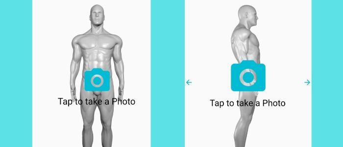 身体を分析するイメージ