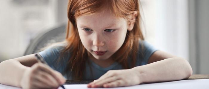 勉強をする子どものイメージ