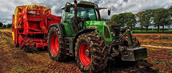 農業にAIを取り入れるイメージ
