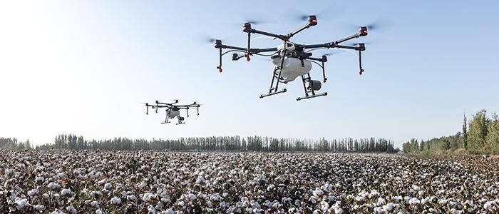 ロボット技術×農業のイメージ